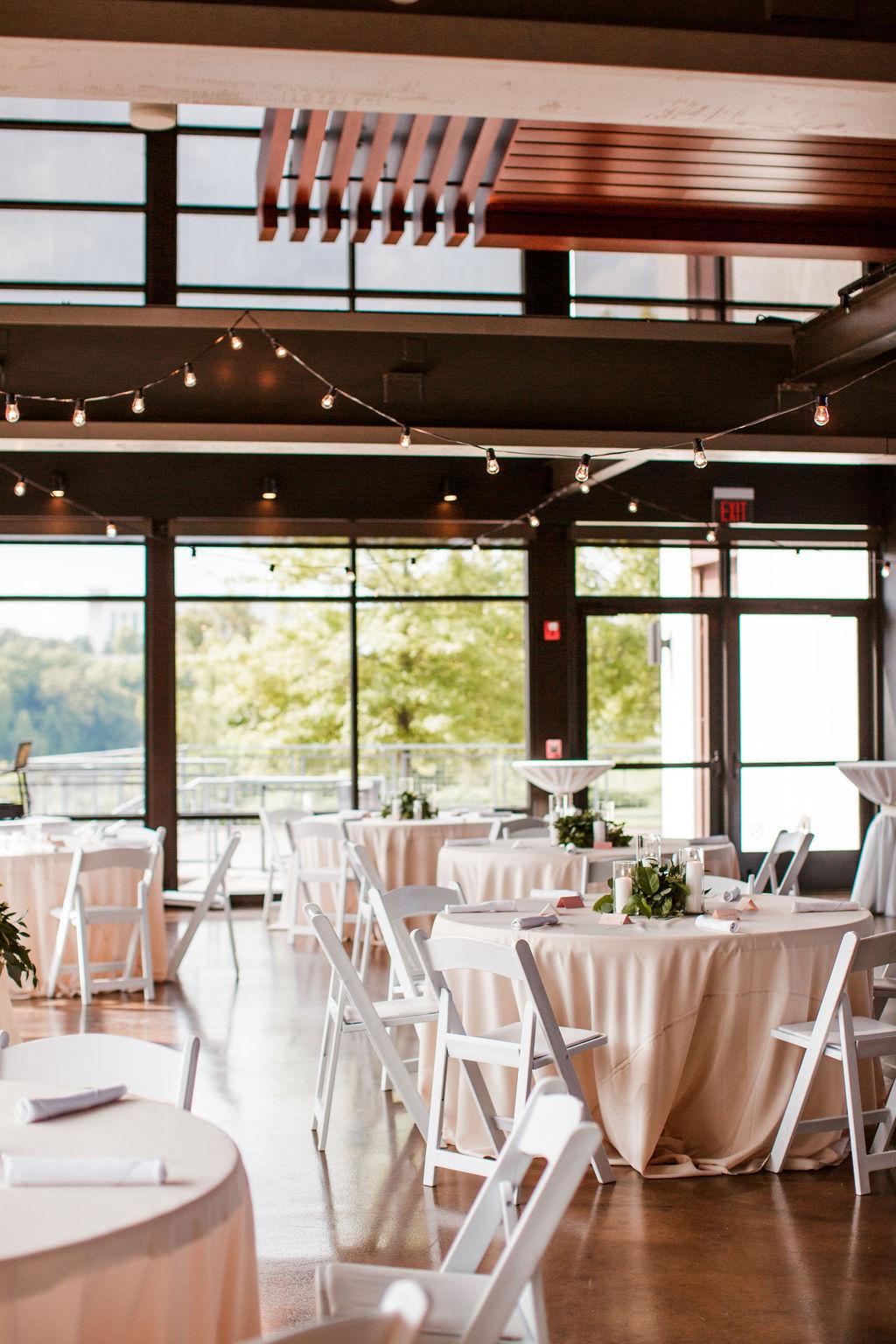Wedding reception at The Bridge Building