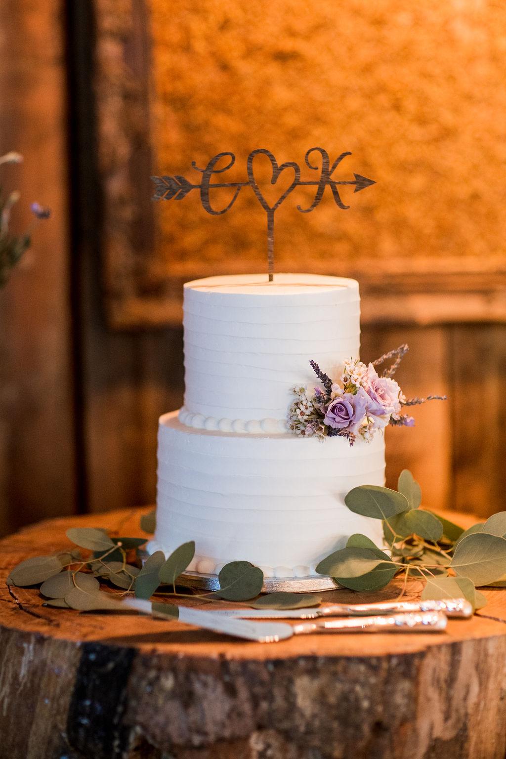 Laser cut wedding cake topper   Nashville Bride Guide