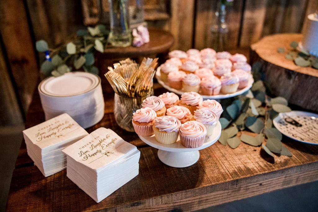 Wedding dessert display   Nashville Bride Guide