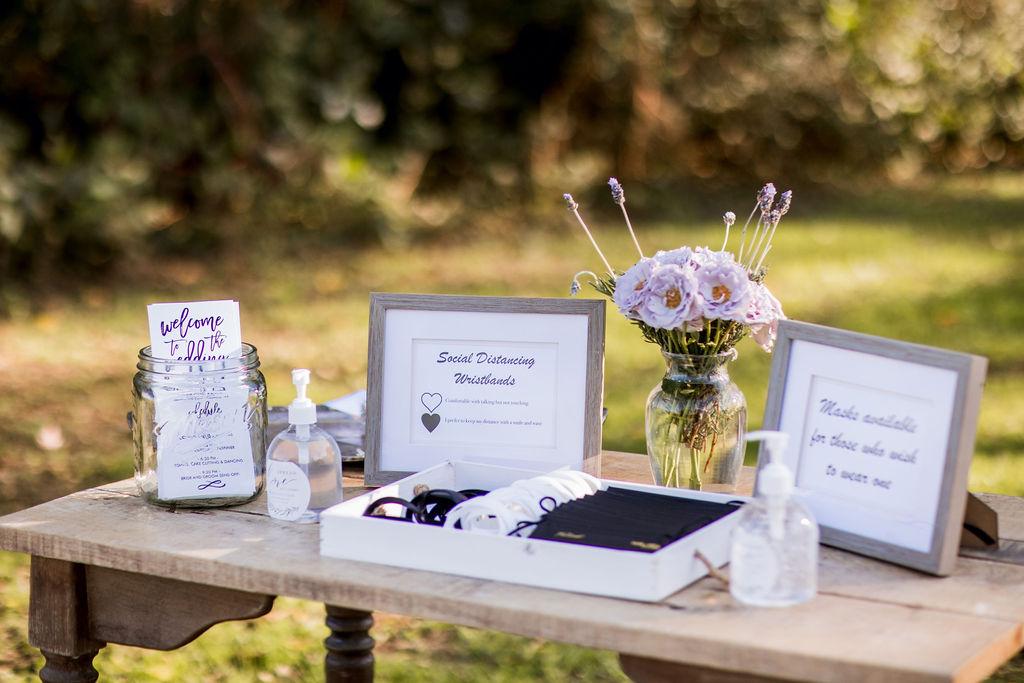 Social distancing wedding decor   Nashville Bride Guide