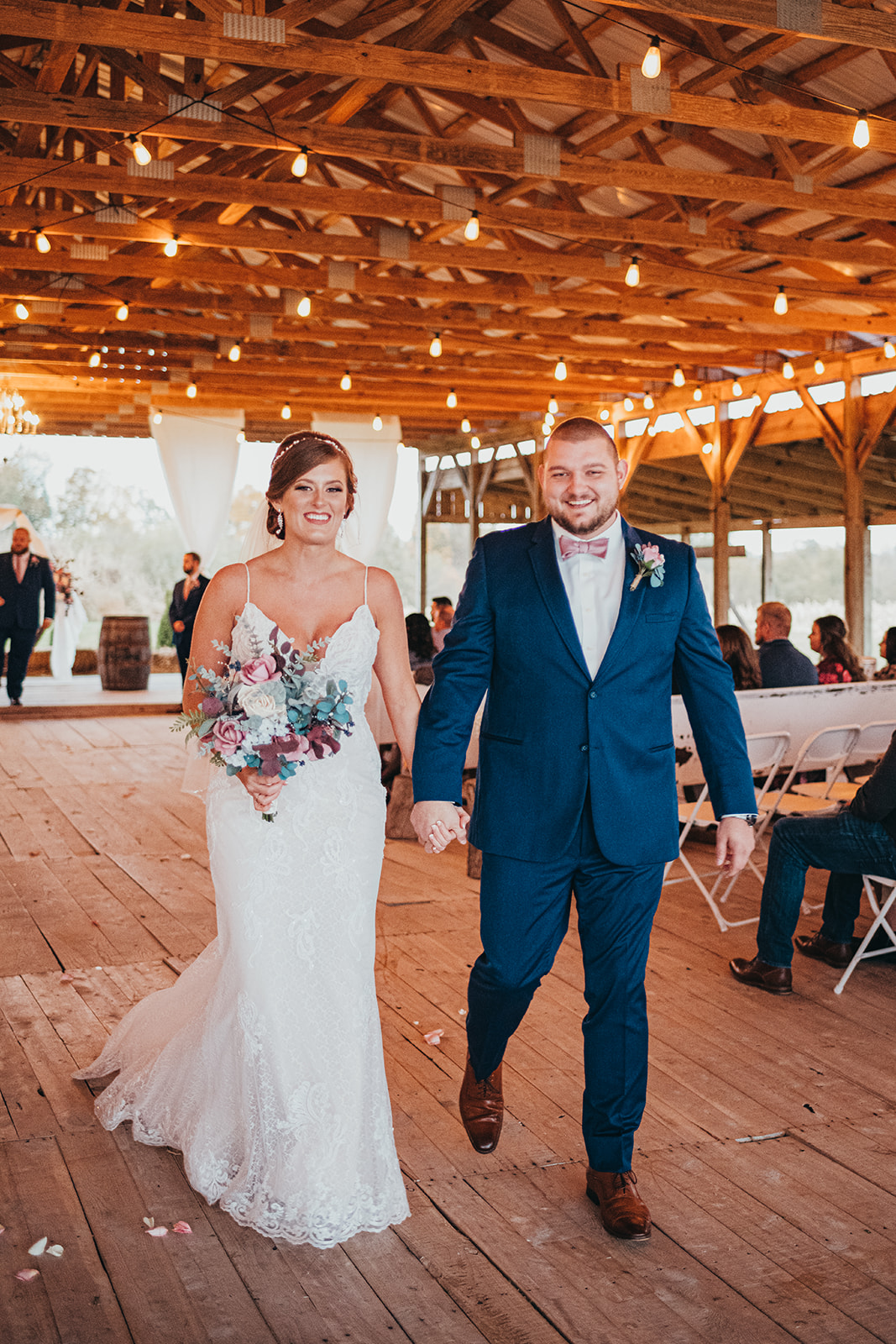 Burdoc Farms wedding ceremony