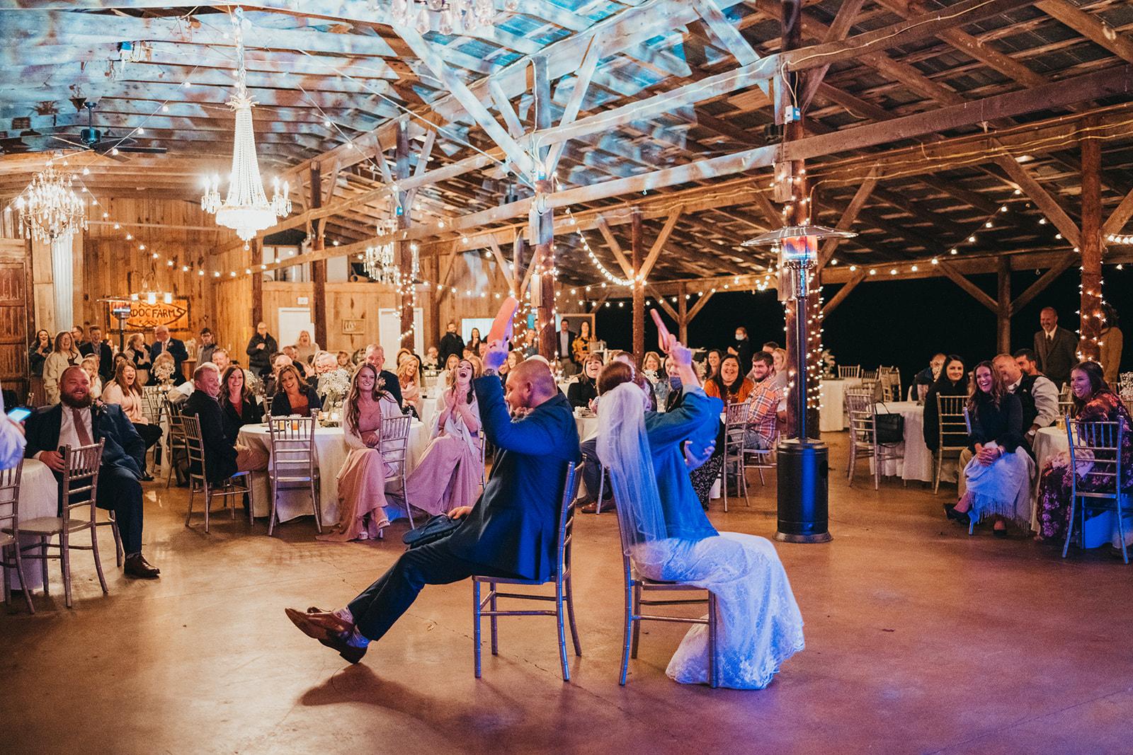 Burdoc Farms wedding with DIY details