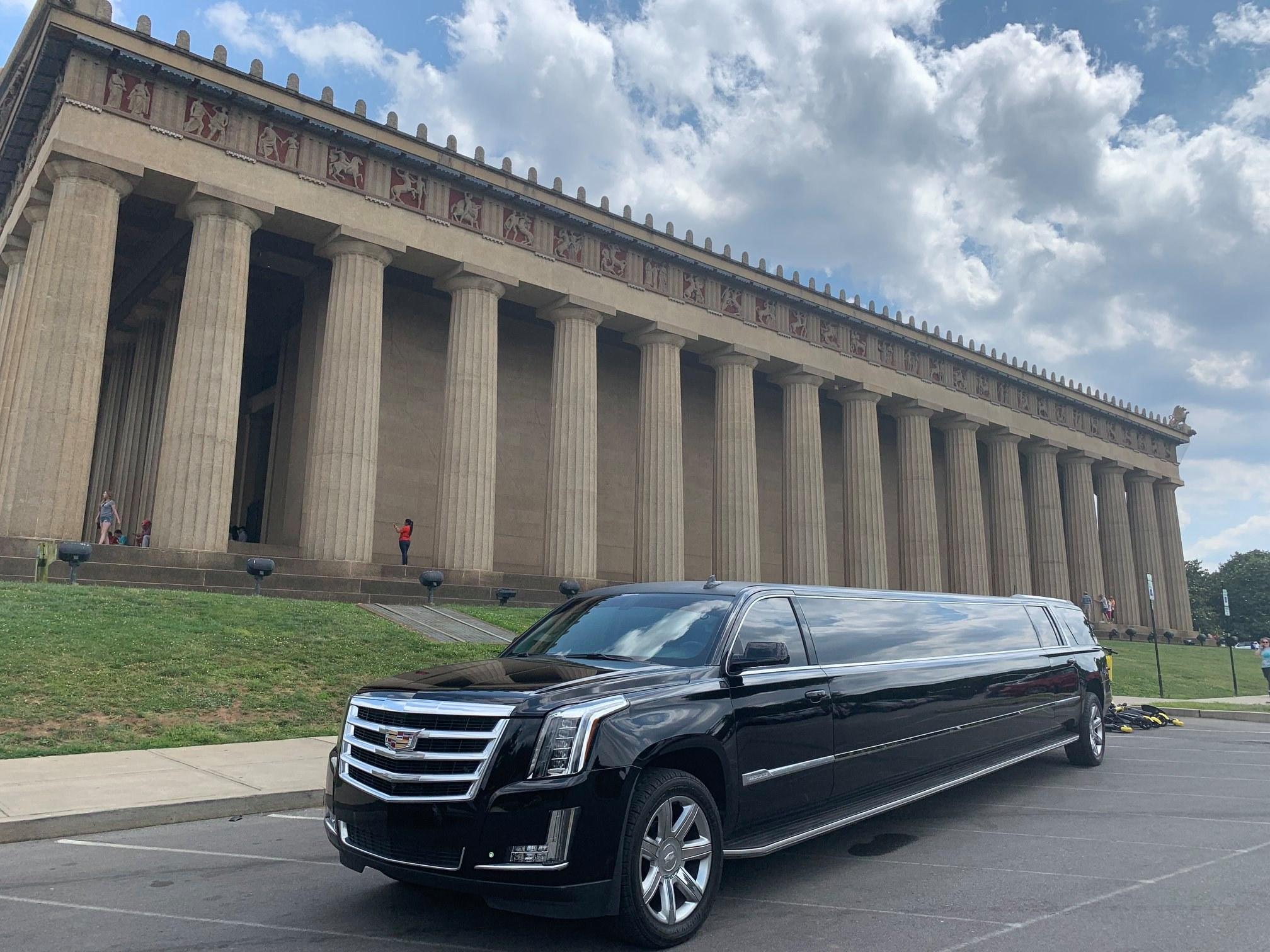 2019 Escalade Limousine2-Nashville-Chauffeur