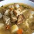 Vegetable Barley Soup with Lemon