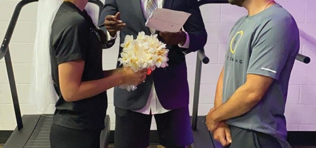 Seven Minutes Fitness Hosts Surprise Wedding For One Of Their Coaches During COVID