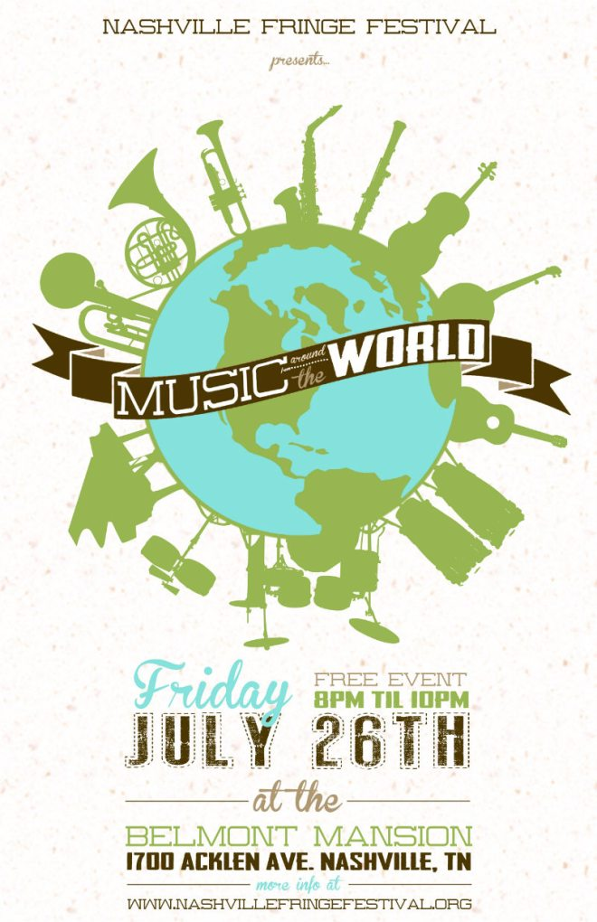 Music from Around the World Nashville Fringe Festival