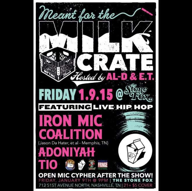 Meant for the Milk Crate January 2015