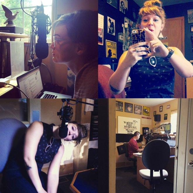 Sarah Saturday Dycee Wildman Fringe Radio Show