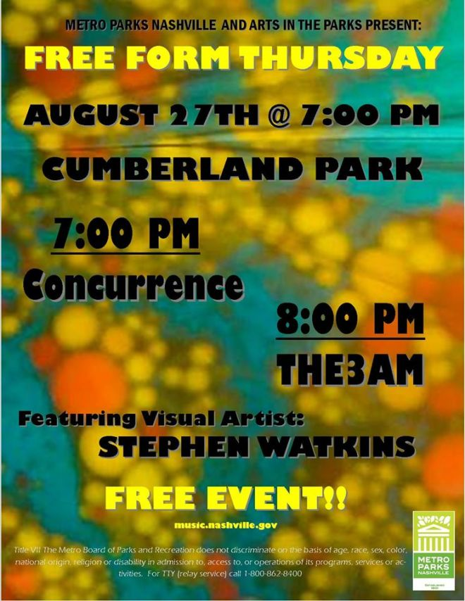 Free Form Friday Cumberland Park