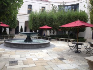 Nashville Fun For Families - Library - 2nd floor courtyard