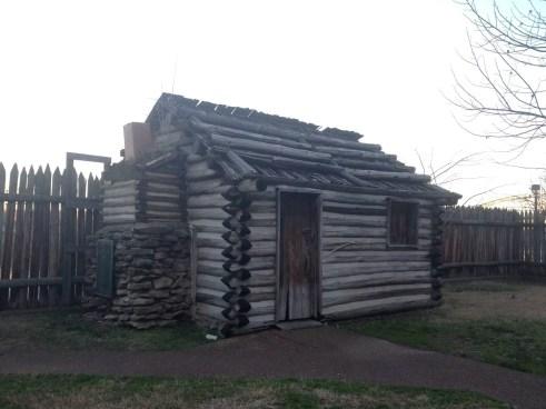 Nashville-Fun-For-Families-Fort-Nashborough-cabin