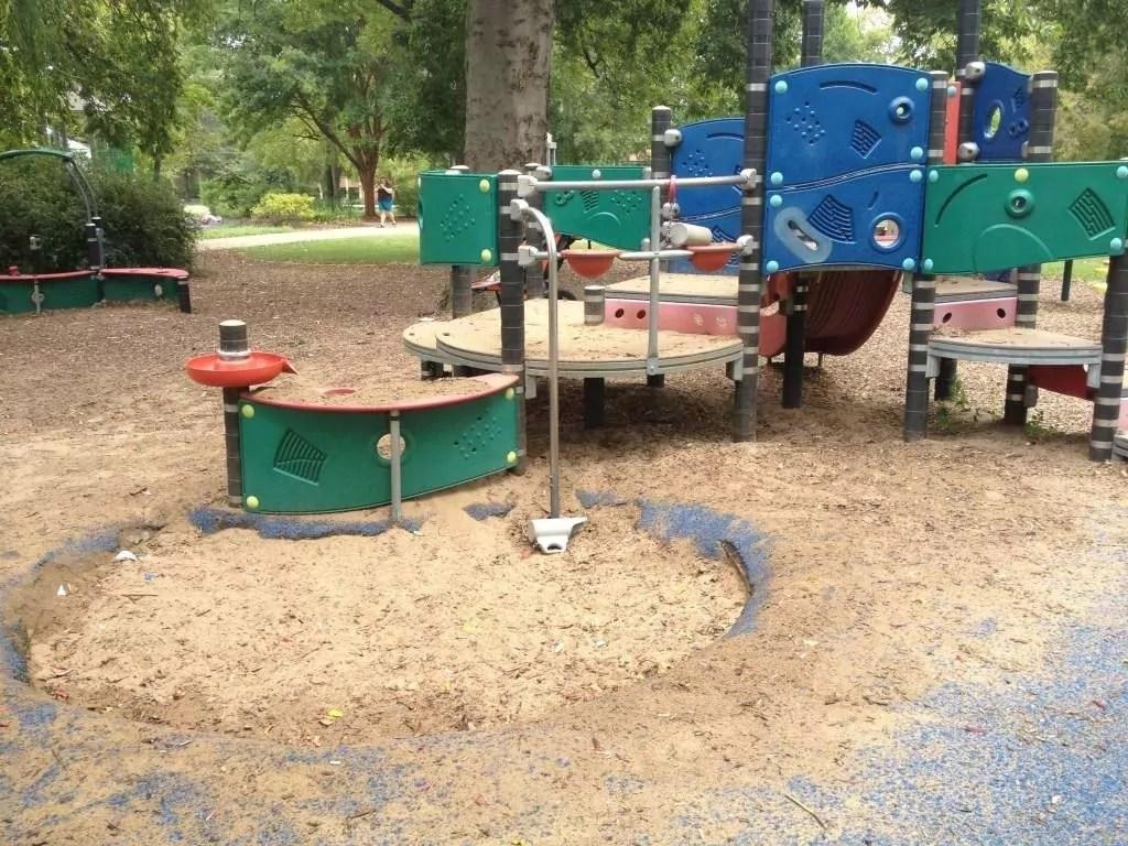 Fannie Mae Dees Park - Smaller play area 2
