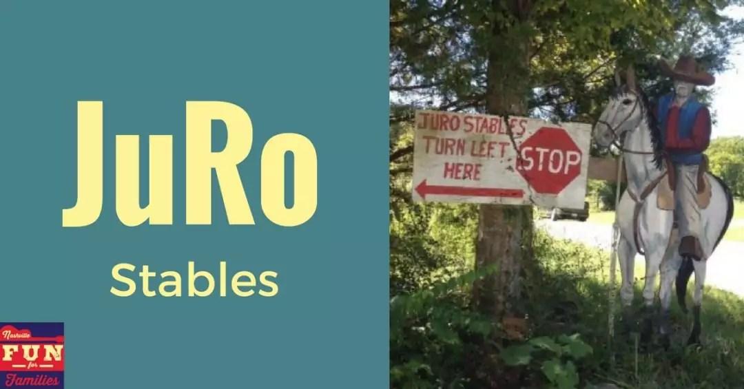 Horsing Around at JuRo Stables