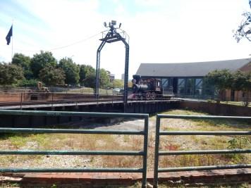 Huntsville Depot - Engine and historic turn table