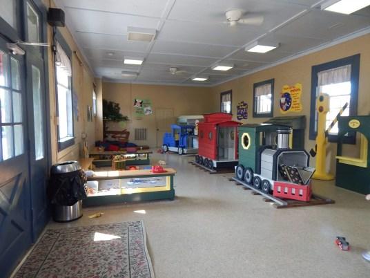 Huntsville Depot - Little Toot's play area