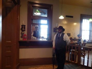 Huntsville Depot - Our amazing tour guide