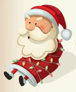 Streets of Indian Lake - Pictures with Santa