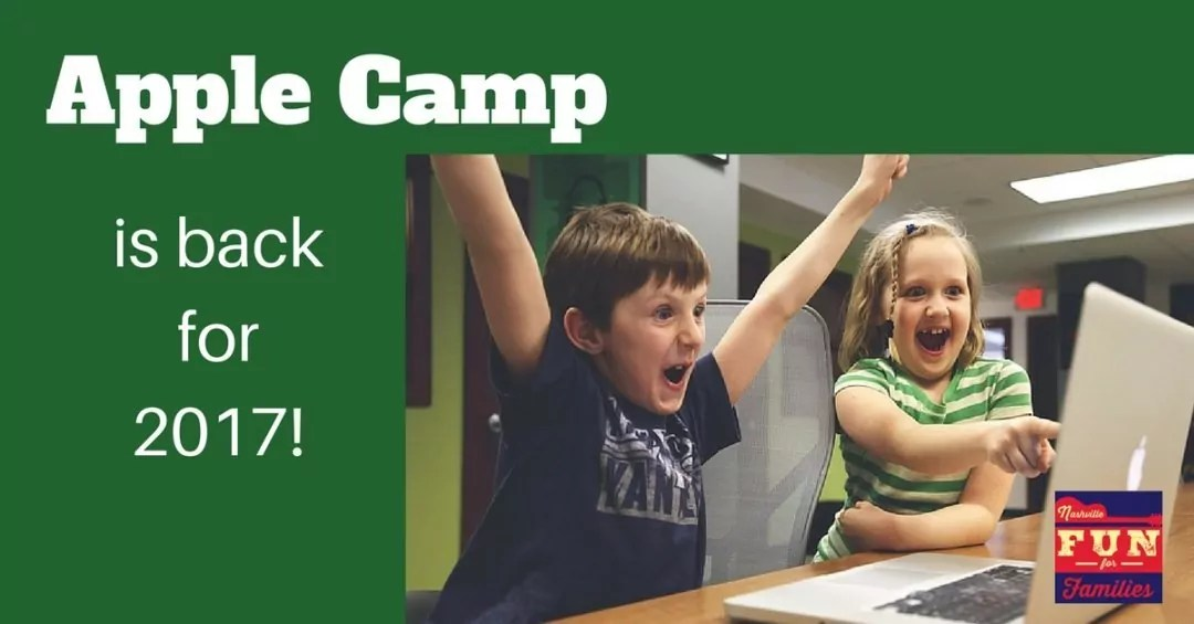 Sign Up for Free Coding Summer Camps at Apple Stores
