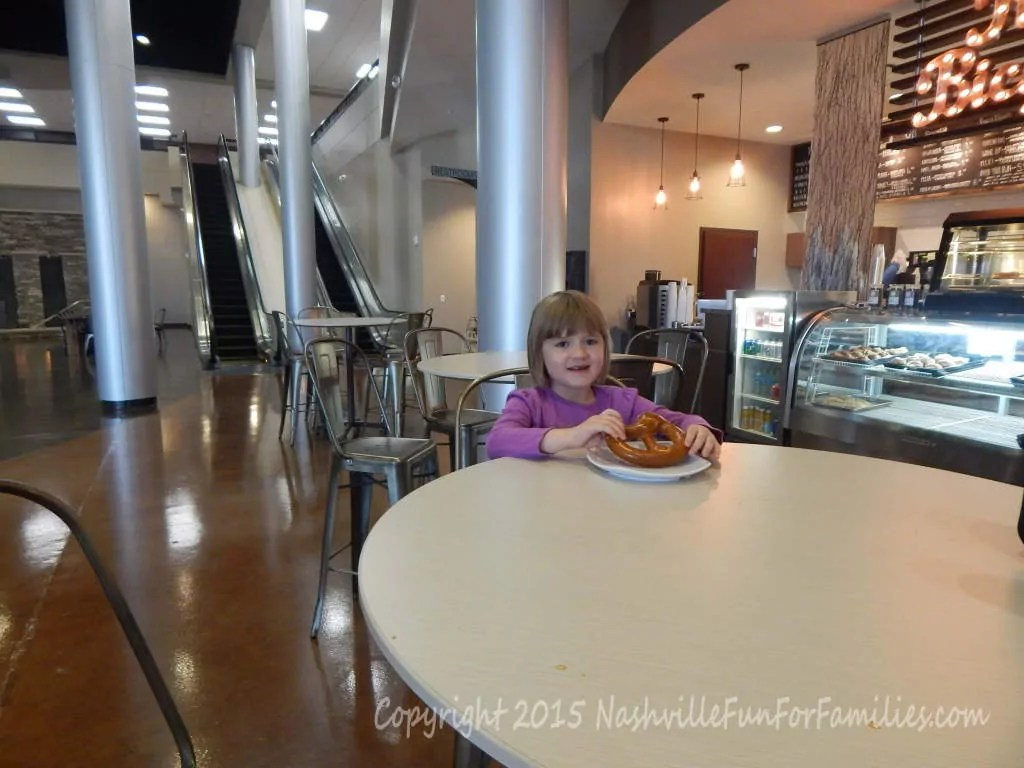 Cornerstone Indoor Playground - Red Bicycle - pretzel