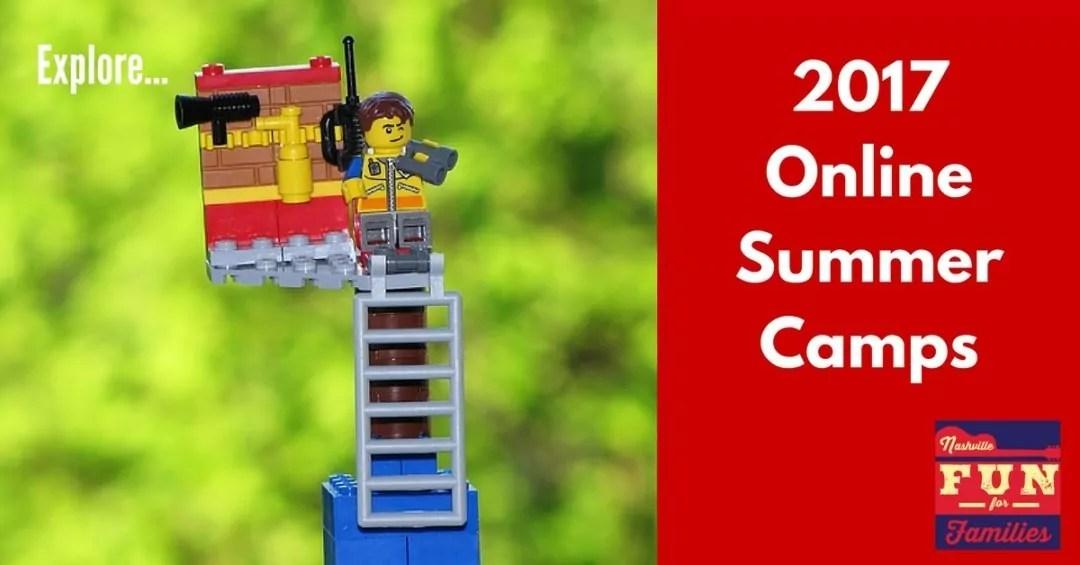 Nashville Family Fun Summer Guide - Online Summer Camps