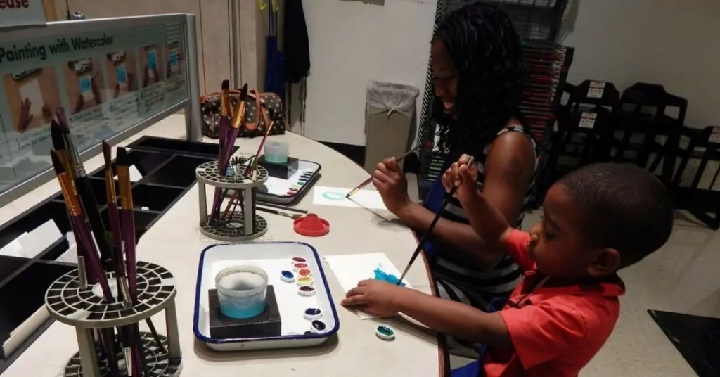 Creating Art at the Frist Center