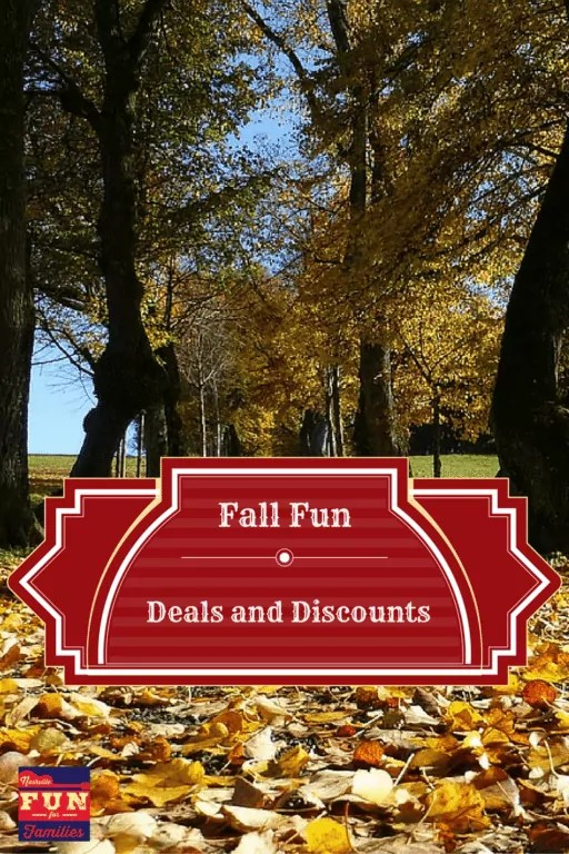 Fall Fun Deals - pinterest