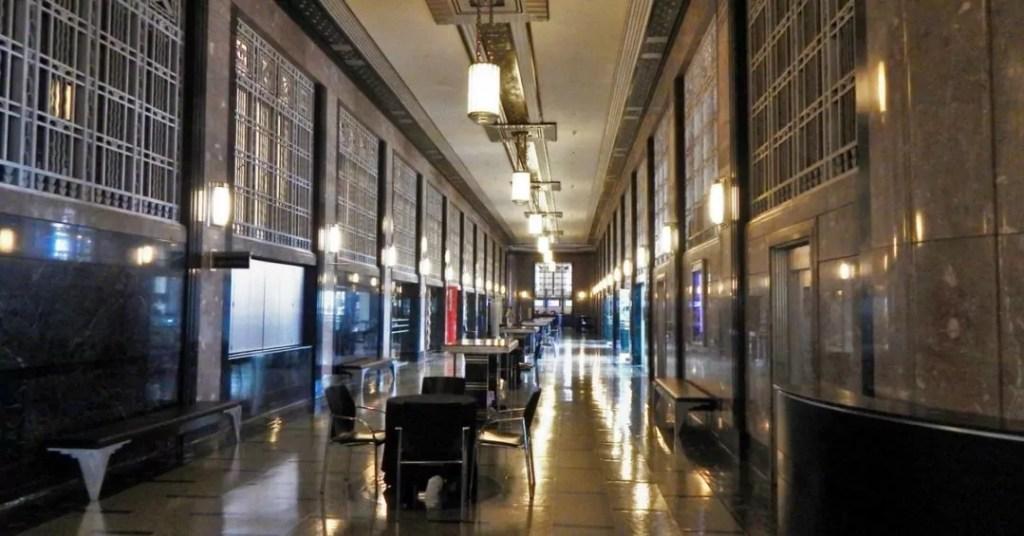 The Frist Center Lobby