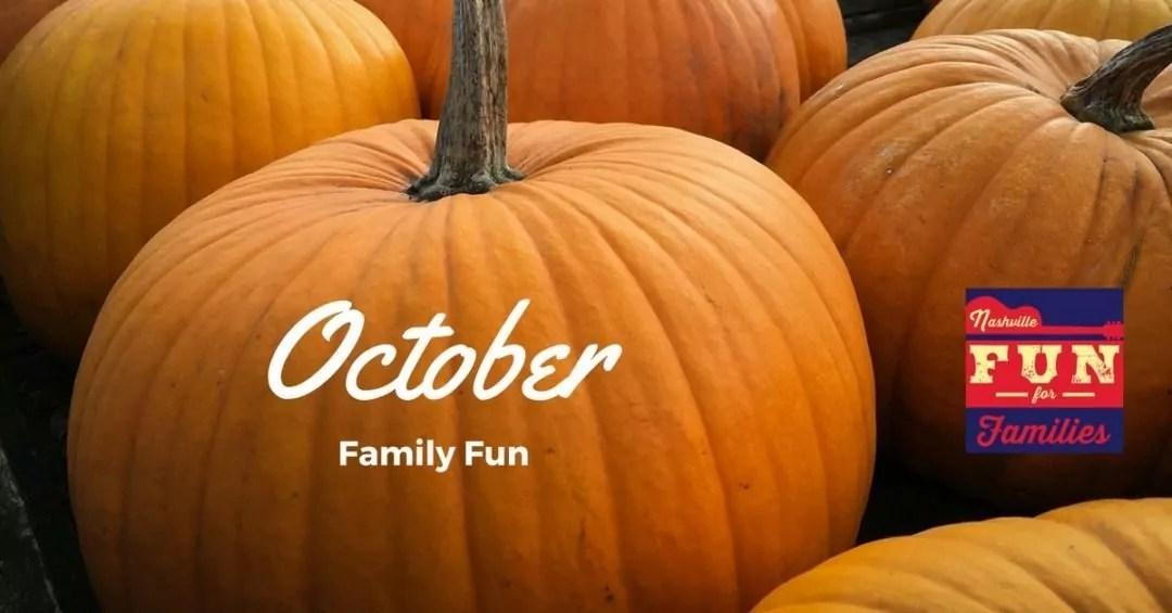 Fall guide to family fun in Nashville - October family fun