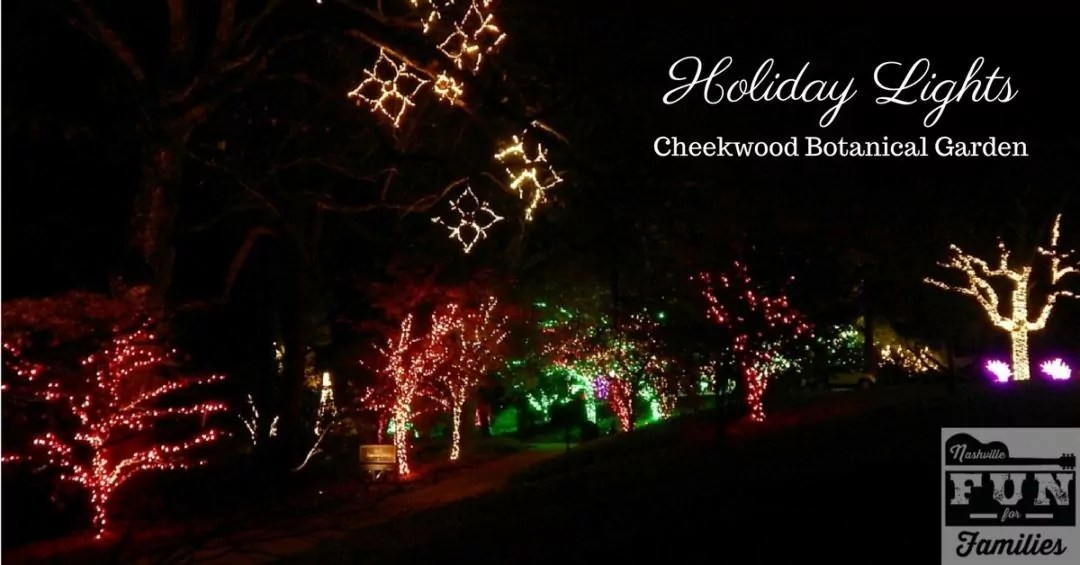 holiday lights at cheekwood botanical garden - Holiday Christmas Lights