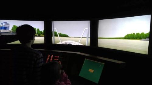 River Discovery Center - simulator