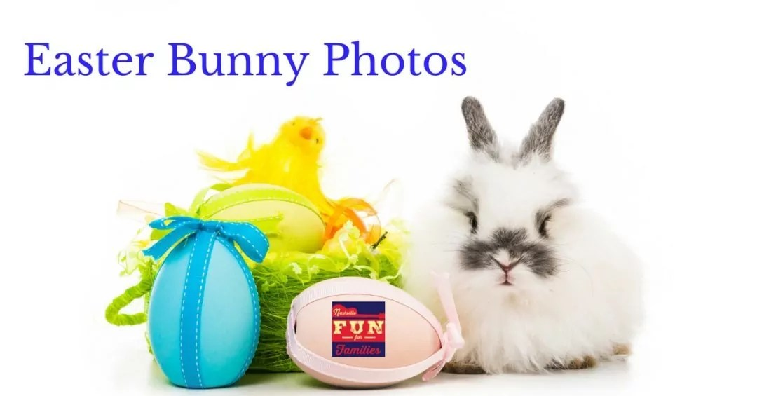 Pictures with the Easter Bunny in Nashville and Middle Tennessee