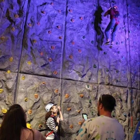 NFFF - WonderWorks - climbing wall