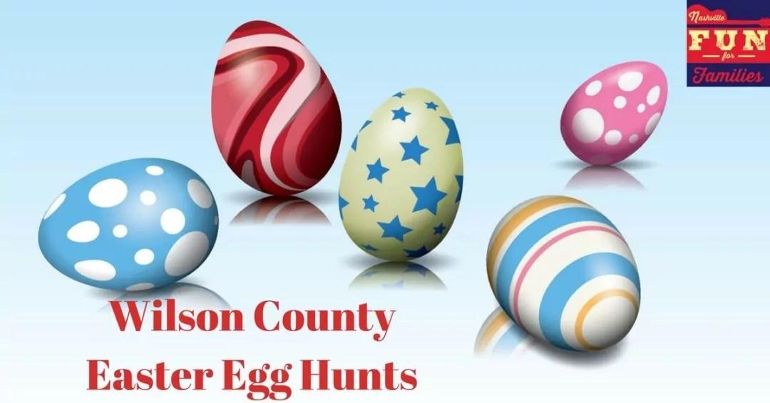 Wilson County Easter Egg Hunts