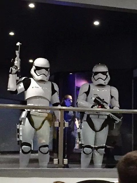 First Trip to Disney World - Storm Troopers