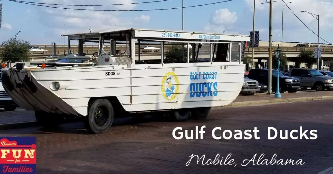 Gulf Coast Duck Tours