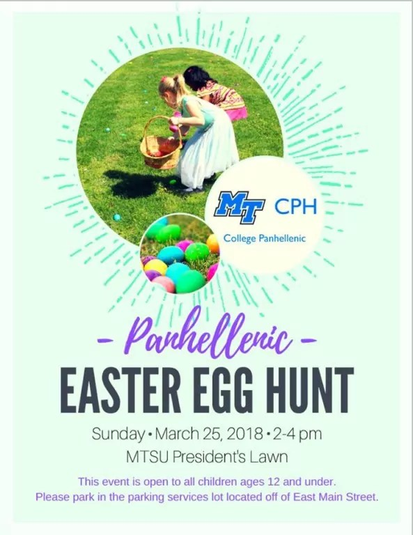 Image result for mtsu panhellenic easter egg