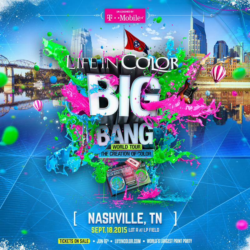 life in color world