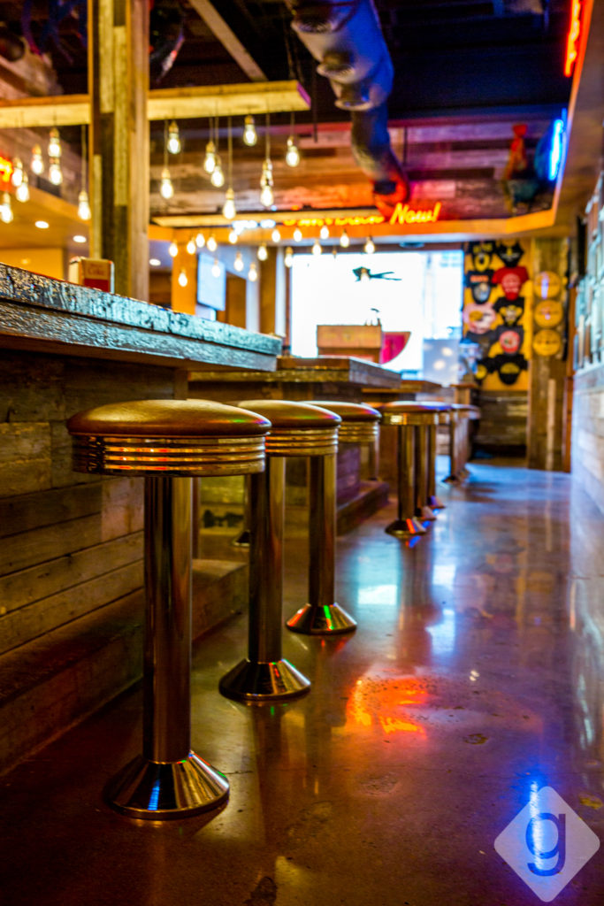 kitchen booths braided rugs a look inside: sun diner café   nashville guru