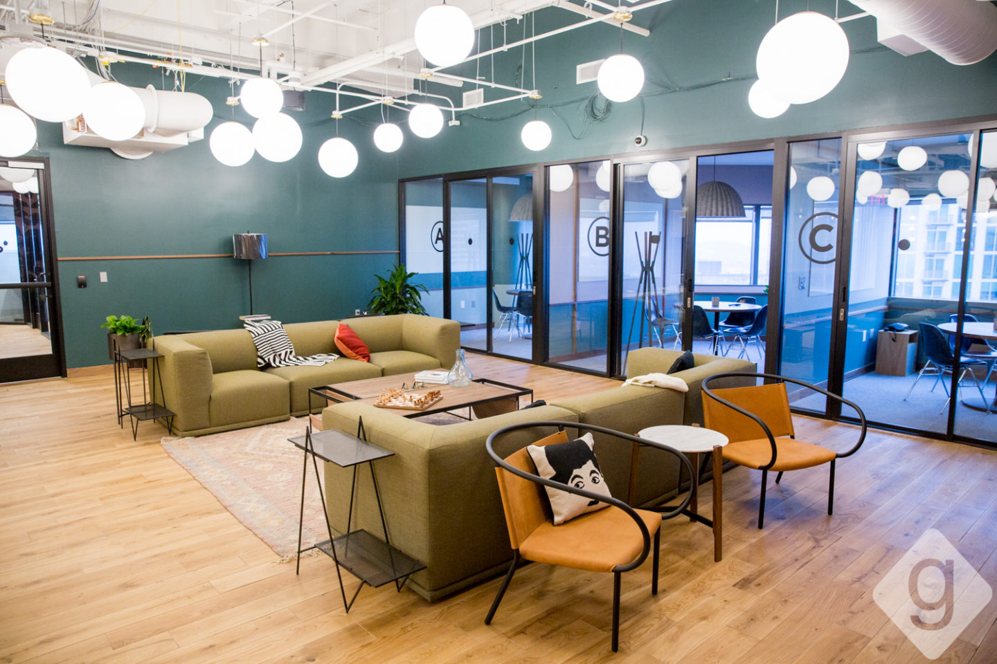 A Look Inside WeWork A CoWorking Space in Downtown