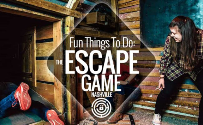 Fun Things To Do The Escape Game Nashville Guru