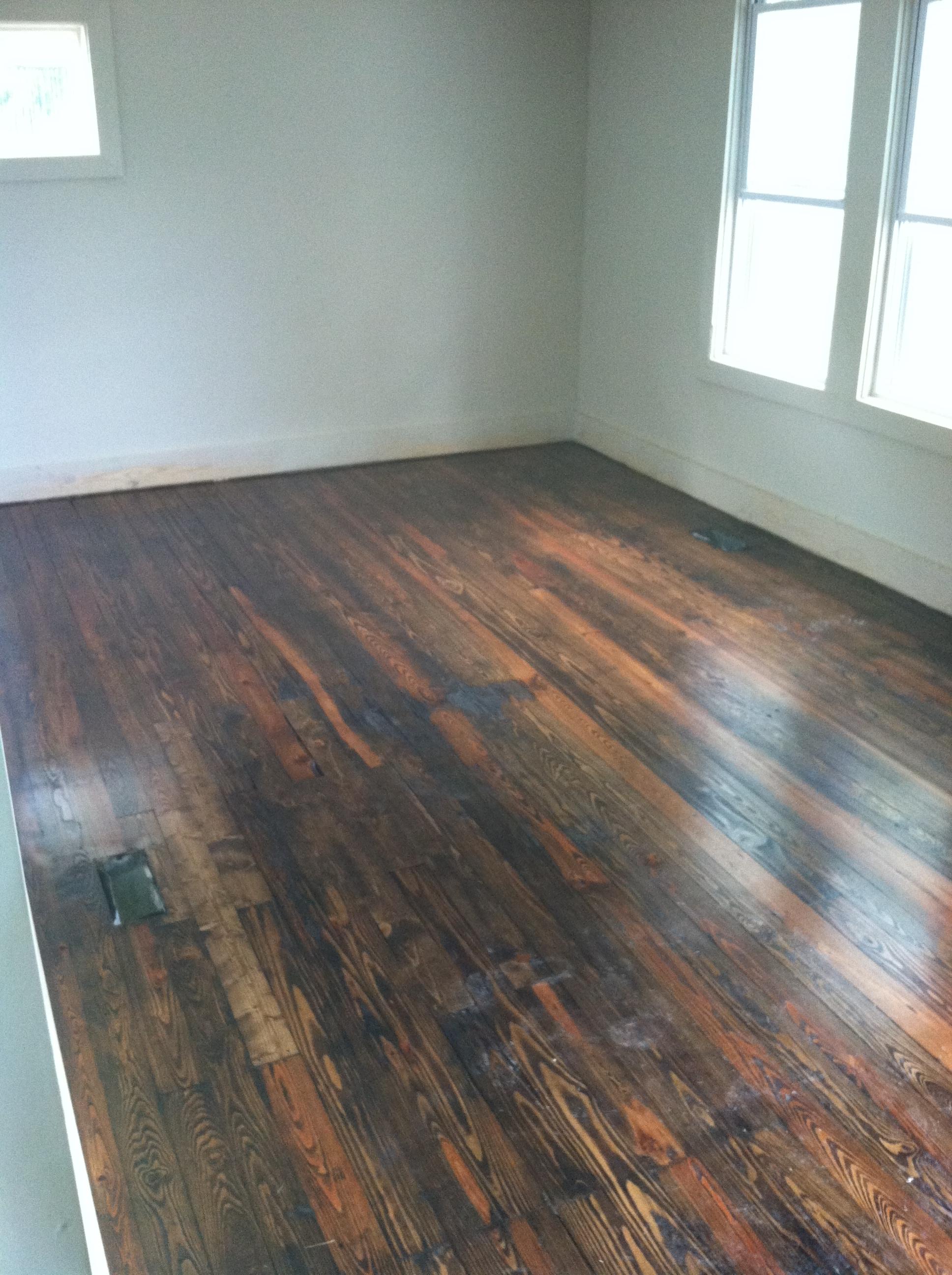 Sanding and Refinishing Old Pine Floors