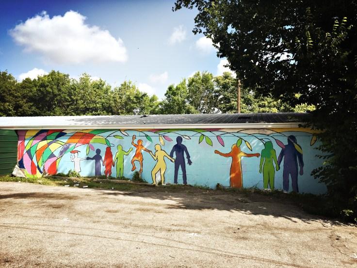 Street art mural Nashville