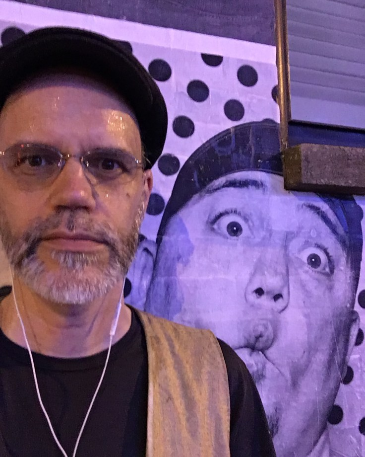 Portrait mural street art Nashville Theron Corse