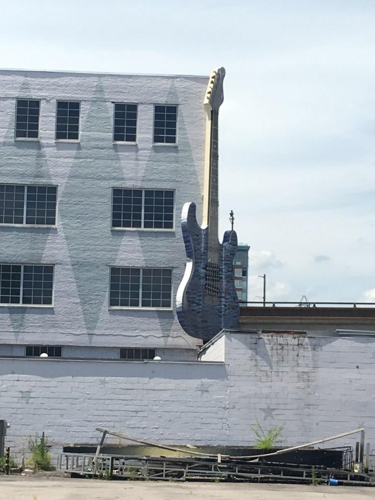 Gibson Guitar sign Nashville street art