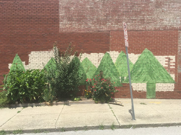 Tree mural street art Nashville