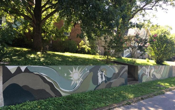 Sun hills mural street art Nashville
