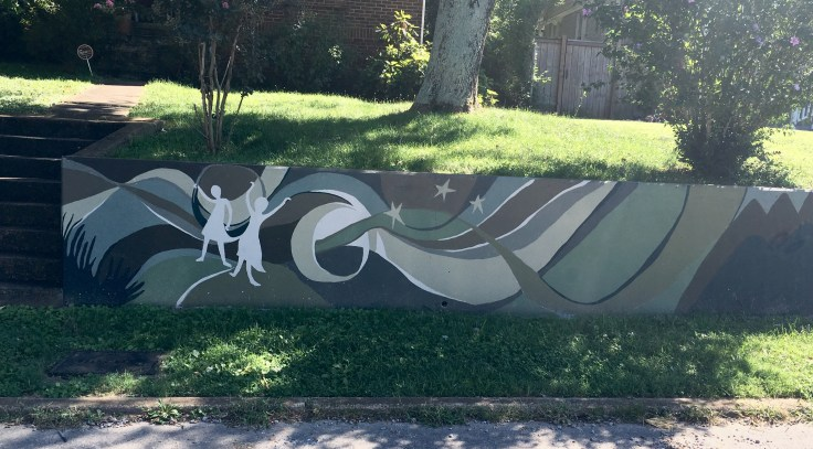 Children mural street art Nashville