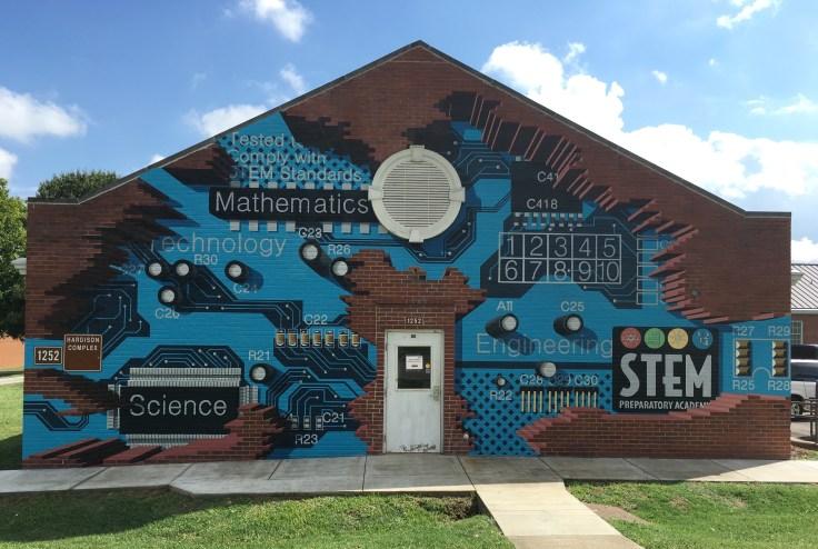 STEM mural street art Nashville