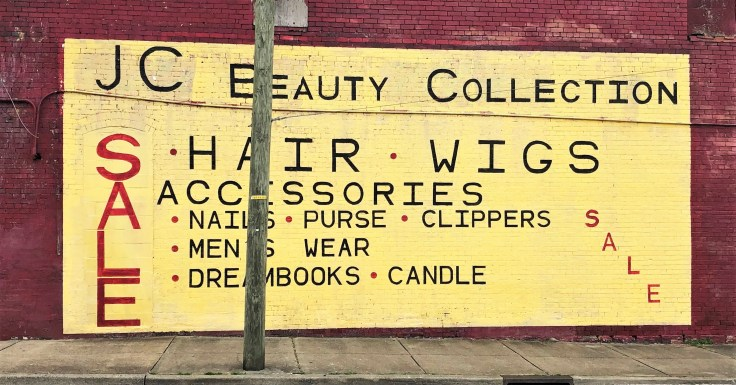 Beauty sign mural street art Nashville