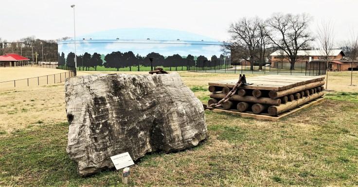 Anchor sculpture public art Nashville